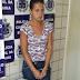 Mulher de traficante é presa com 165 buchas de maconha no interior da Bahia