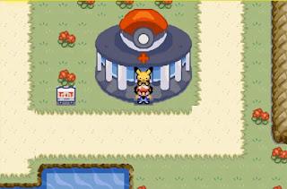Pokemon Ash Johto para GBA Pueblo Primavera Anime Pokemon