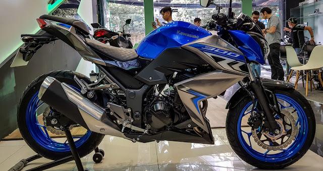 Thông số kỹ thuật Kawasaki Z300 2018 giá từ 129 triệu