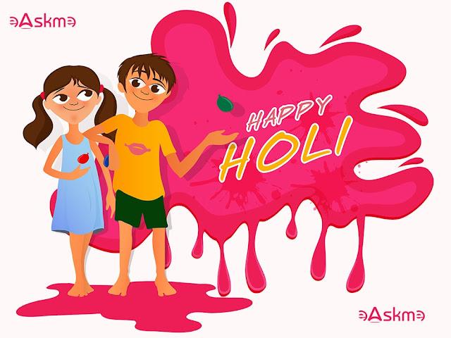 Happy Holi : Festival Of Colors: eAskme