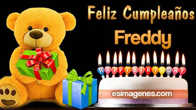 Feliz Cumpleaños Freddy