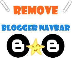 How To Remove Blogger Navbar