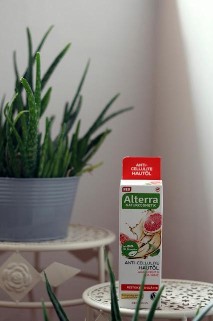 Antycellulitowy olejek Alterra
