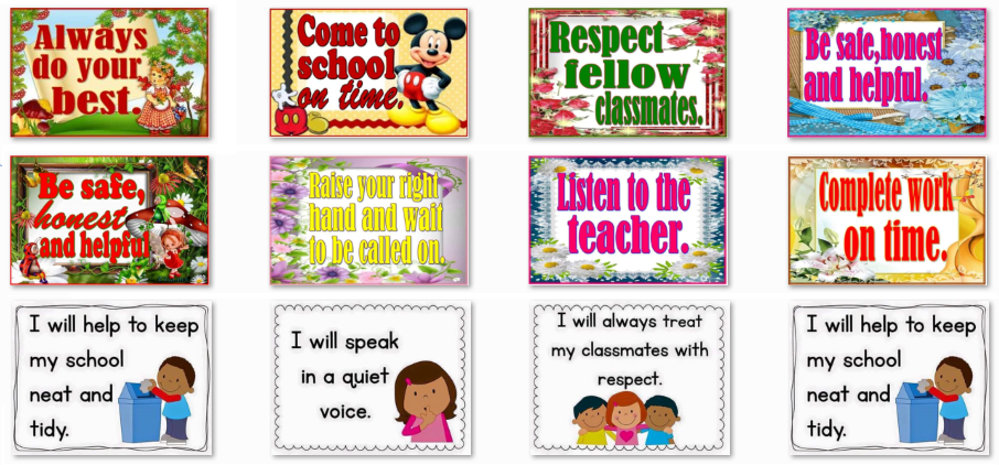 Deped Standard Classroom Design ~ All new classroom rules instructional materials for