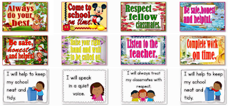 All New Classroom Rules Instructional Materials for Classroom Structuring