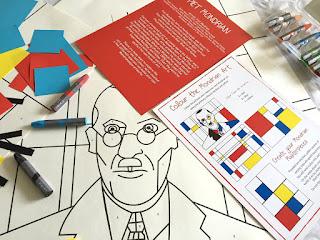 Piet Mondrian Art Kit