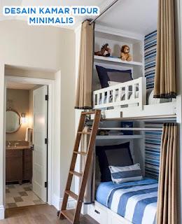 desain kamar tidur 2 tingkat