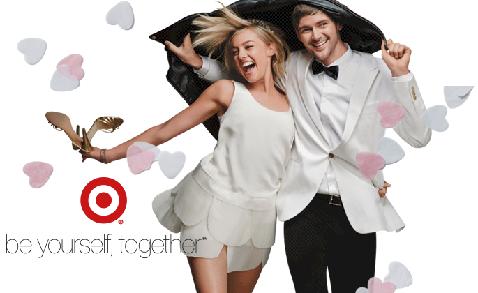 "Target Wedding Registry: ""Be Yourself, Together"" With A"