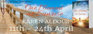 One Moment at Sunrise Karen Aldous Blog Tour French Village Diaries
