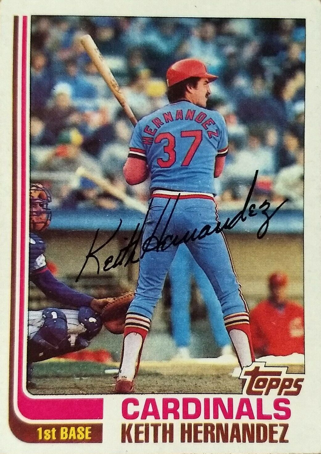 The Snorting Bull A 1980s Card Part 4 1982 Topps Keith