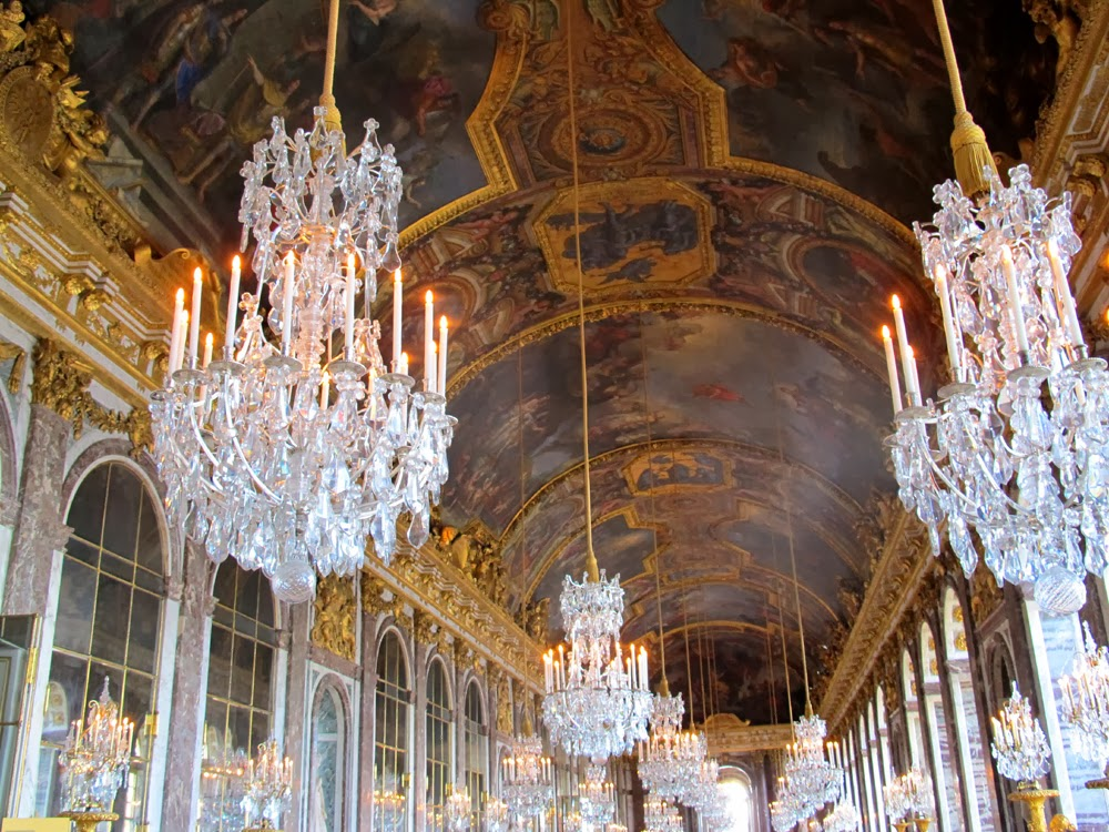 Hall of Mirrors Versailles Palace, France