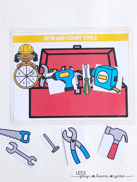 Spin and Count Tools