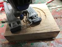 Creating a cavity
