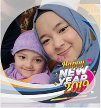 Kumpulan Bingkai Foto Profil Spesial Selamat Tahun Baru 2019
