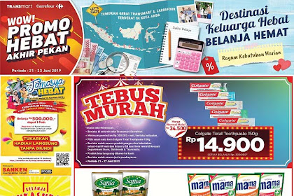 Katalog Promo Carrefour Weekend JSM 28 - 30 Juni 2019
