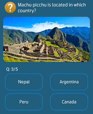 Machu picchu is located in which country?