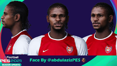 PES 2021 Faces Nwankwo Kanu Christian Jr