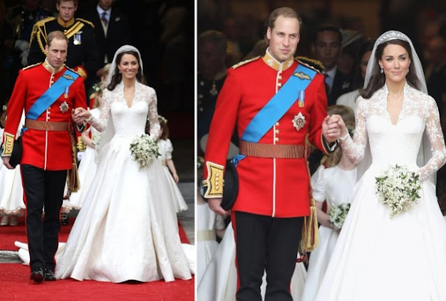 Kate Middleton vestido de noiva royal chic