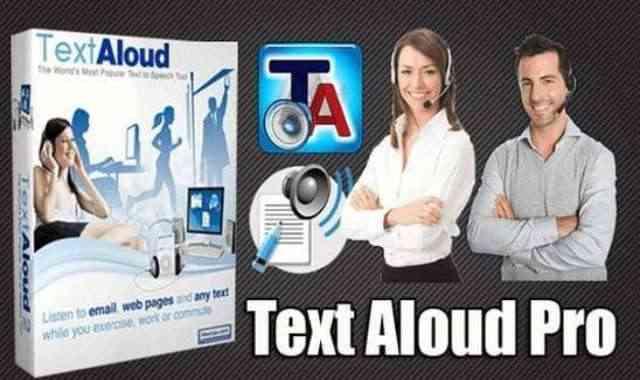 تحميل برنامج TextAloud v4.0.59 Portable نسخة محمولة مفعلة اخر اصدار
