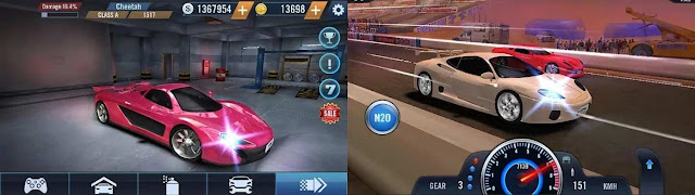 لعبة Furious Car Racing