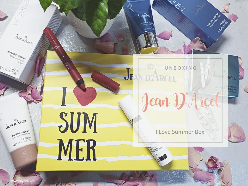 I Love Summer Beauty Box von Jean D'Arcel