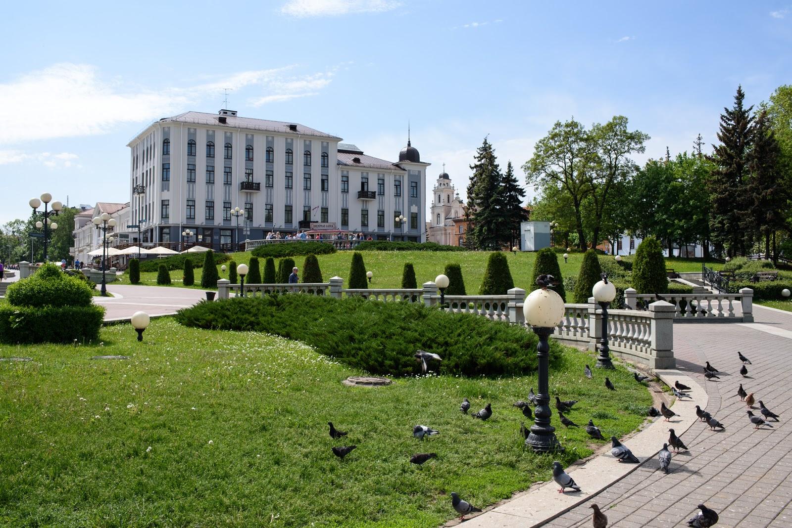 Центр Минска.
