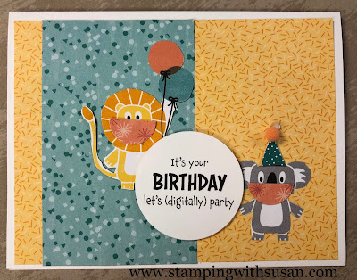 Stampin' Up!, Bonanza Buddies Suite, www.stampingwithsusan.com, Share Sunshine,