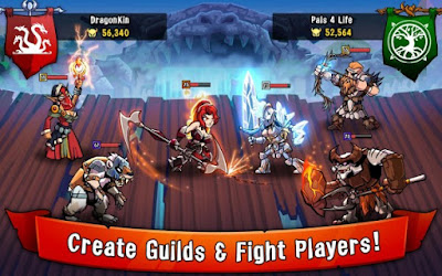 Free Download HonorBound (RPG) Apk v4.31.14 Mod (1 Hit Kill)