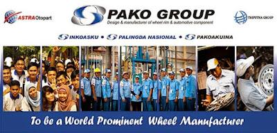Lowongan Kerja Jobs : Cost Accounting, IT Network & Infrastructure, Design Engineering PT Pako Group Rekrutmen Besar-Besaran