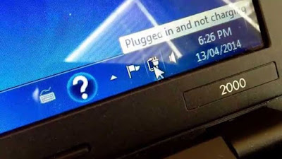 "Cara Mengatasi Masalah ""Plugged In, Not Charging"" Pada Laptop"