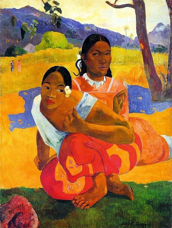 Resultado de imagem para obras de paul gauguin
