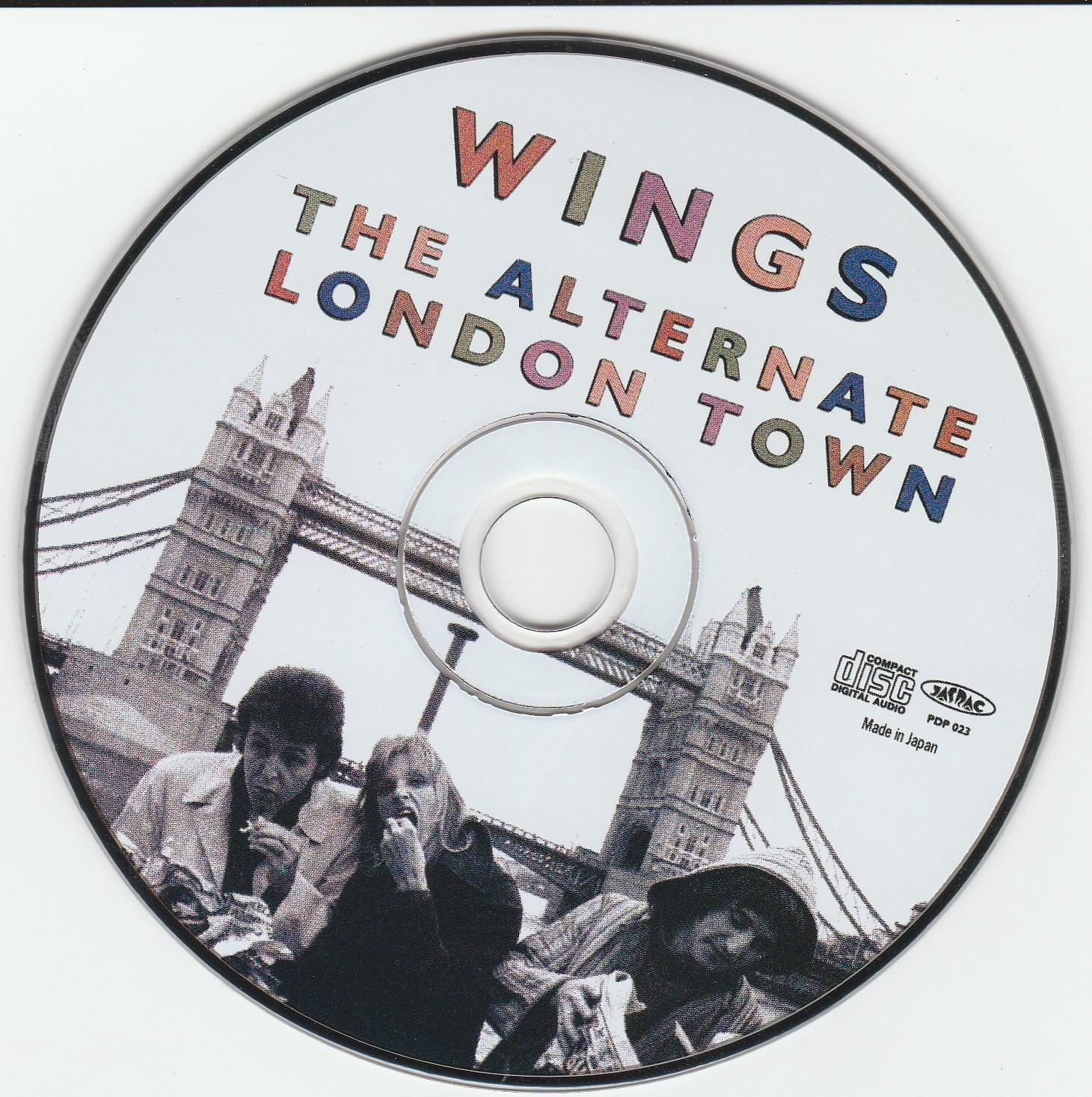 Las Galletas de Maria: Wings - The Alternate London Town (2002 UK)