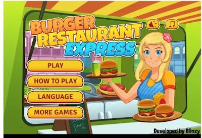 العاب طبخ بنات حقيقية للكبار - لعبة Burger Restaurant Express