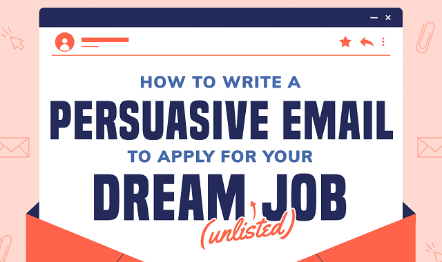 Cold email – A new way to inquire about your dream job opportunity #infographic