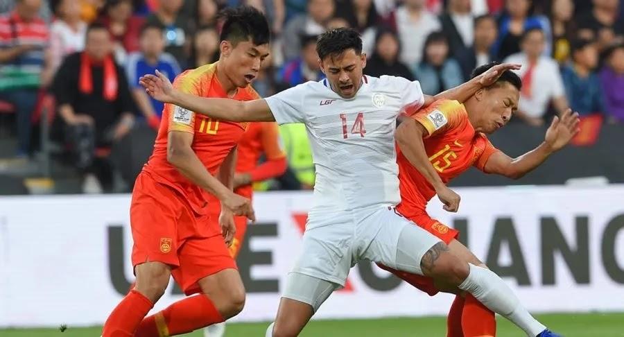 Tuyển Trung Quốc vừa có trận hòa như thua trước Philippines tại vòng bảng World Cup 2022