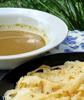 Resep Membuat Ragit Jala Kuah Kari Palembang
