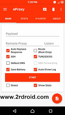 من جديد انترنت مجانى و ملف كونفج متجدد بإستمرار لتطبيق Eproxy