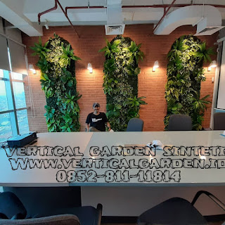 Vertical garden sintetis Jakarta Selatan