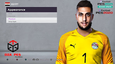 PES 2020 Faces Ahmed El Shenawy by Dzayer Pes