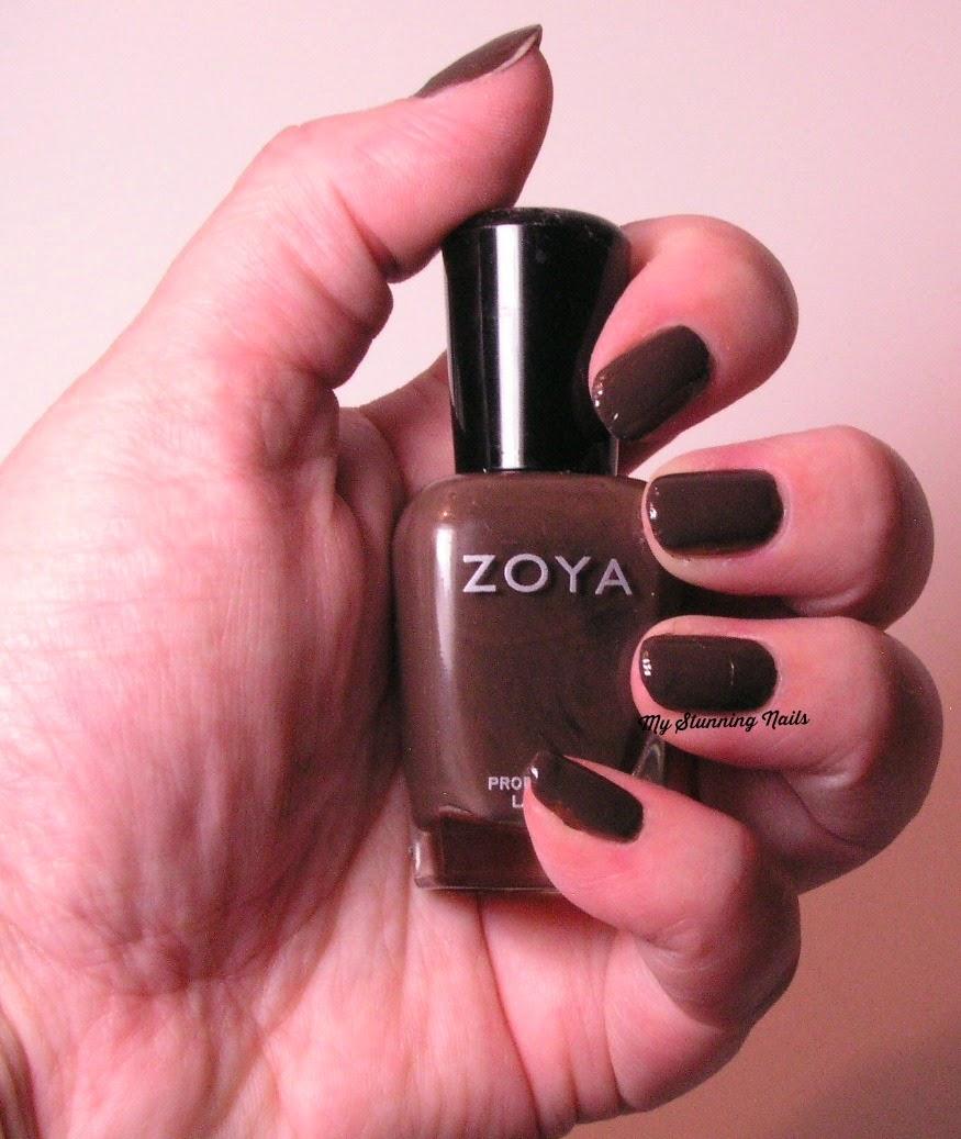 Zoya Naturel Deaux - A Review - My Stunning Nails