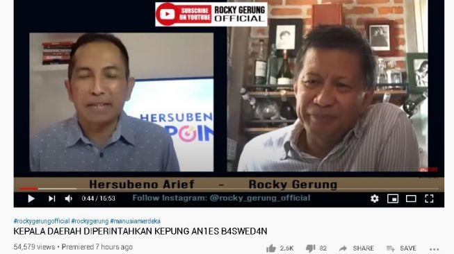 Rocky Gerung: Buya Syafii, Selamat Datang Kembali di Komunitas Akal Sehat