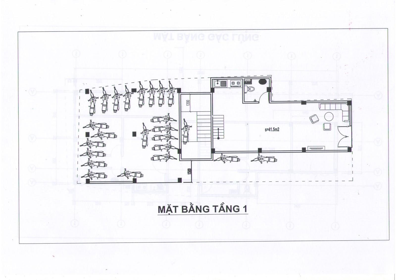 Mặt bằng thiết kế các căn hộ chung cư mini Minh Đại Lộc 2