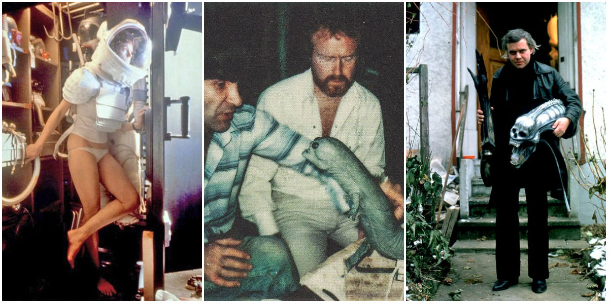 Image result for behind the scenes alien