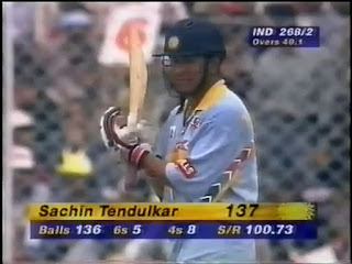 Sachin Tendulkar 137 vs Sri Lanka | 6th ODI Hundred Highlights