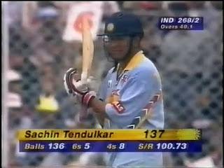 Sachin Tendulkar 137 vs Sri Lanka | 6th ODI Hundred Highlights