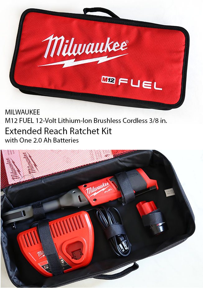 extended reach ratchet kit by milwaukee