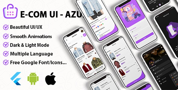 Azul v1.0 - WooCommerce & Shopify Theme Ui Kit