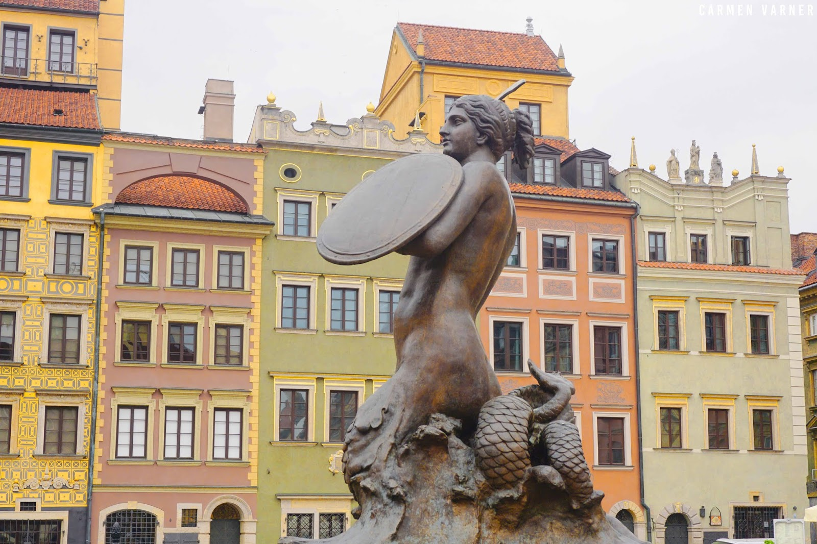 Mermaid in Old Town Warsaw Square Things to Do in Warsaw Sightseeing Historic Attractions