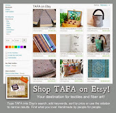 Shop TAFA on Etsy!