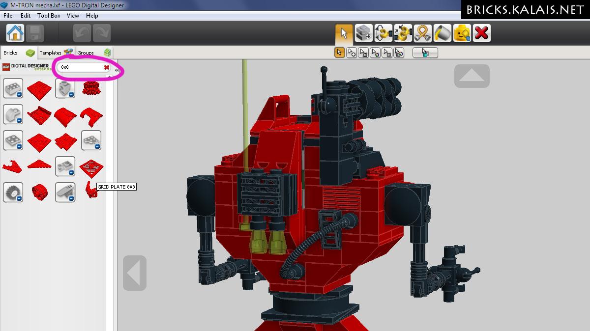 Secrets Of Ldd 10 Useful Tips For Lego Digital Designer Kalais Bricks Lego Blog